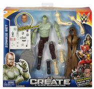 WWE Create-a-Superstar Deluxe Action Figure Undertaker Zombie Set Pack